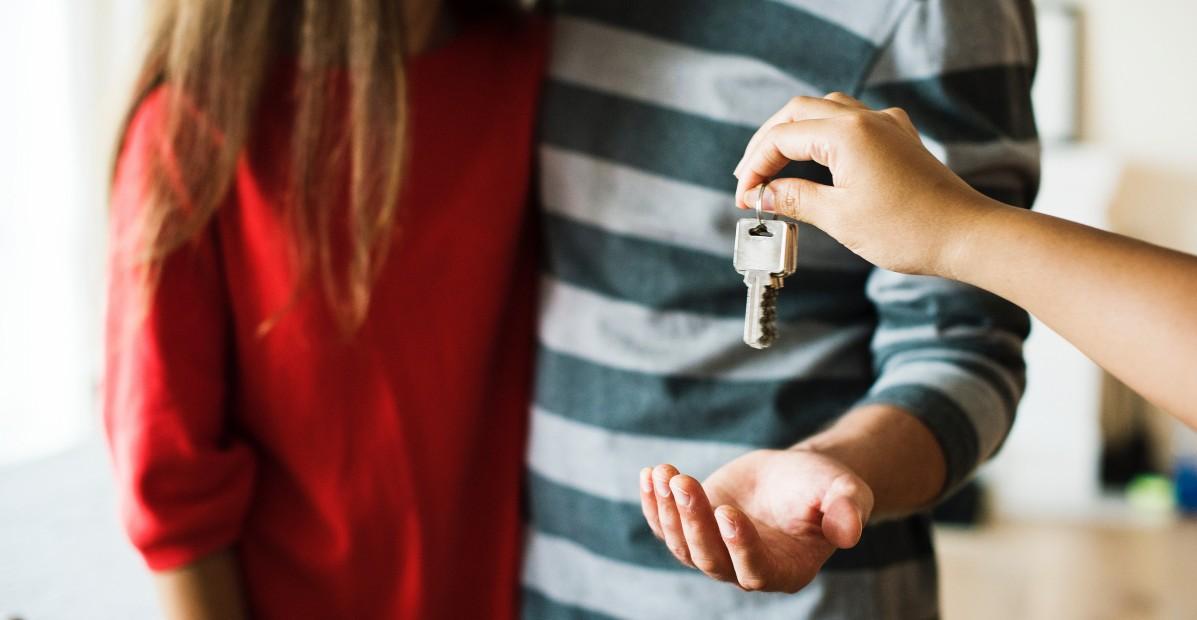 sleuteloverdracht